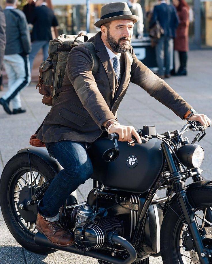 ネオクラシックバイクファッション