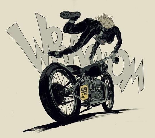 バイクは危険な乗り物