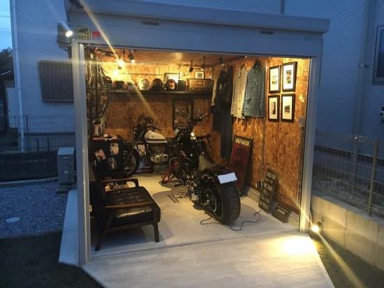 バイクガレージ のイメージ
