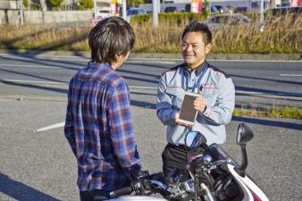 バイク出張買取