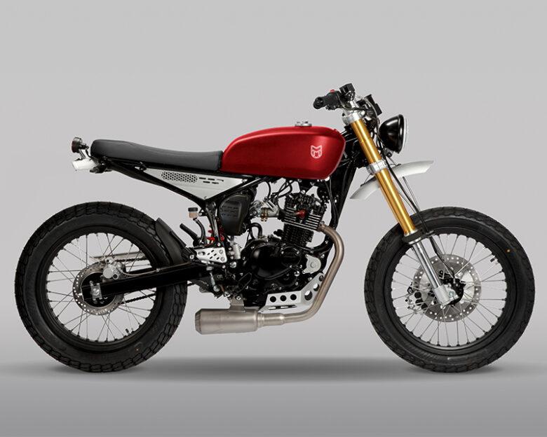 MUTTモーターサイクルズ125ccバイク レイザーバック125