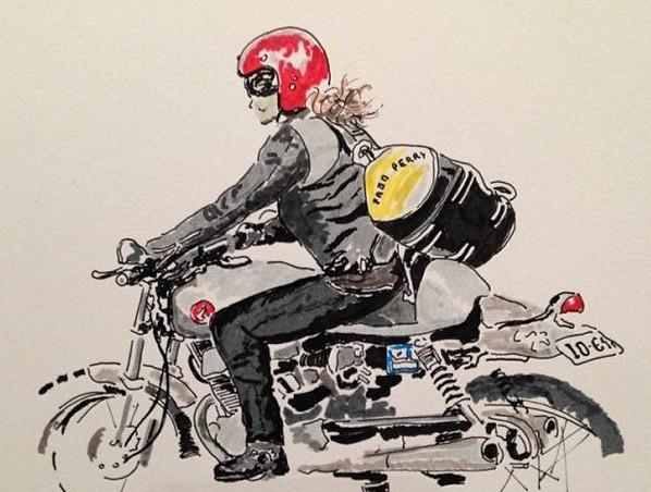 かっこいいセカンドバイクのイメージ