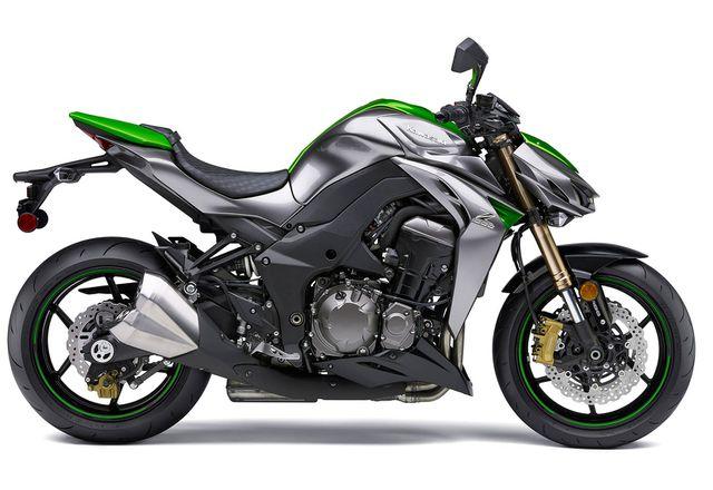 Kawasaki Z1000 ライムグリーン