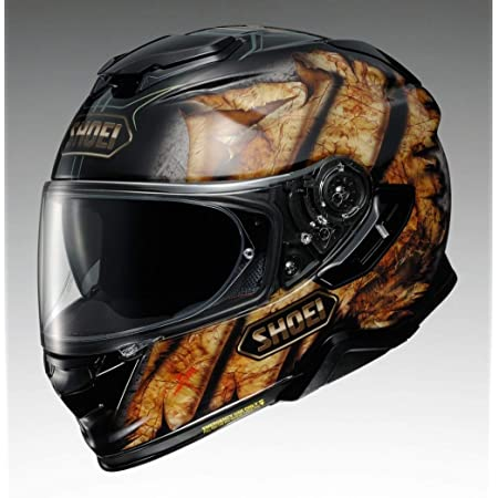 かっこいいバイク用機能的フルフェイスヘルメット