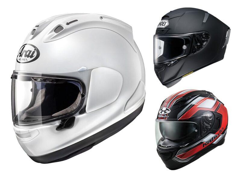 フルフェイス型ヘルメットのメリット・デメリット