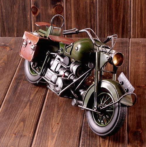 ブリキ製オートバイオブジェ