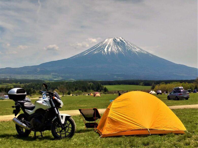 失敗しないキャンプツーリングのテント選び