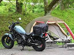 キャンプツーリングは自由度が高いツーリング