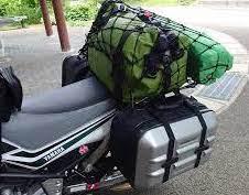 キャンプ道具は防水バックを追加して積む