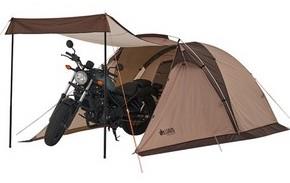 キャンプツーリング用のテントの失敗しない選び方