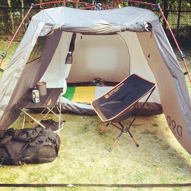 快適なキャンプツーリングの装備は意外と手軽