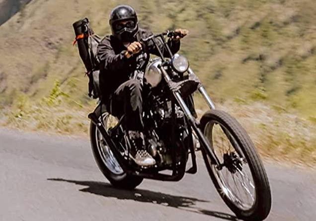 アメリカンバイクのフルフェイス